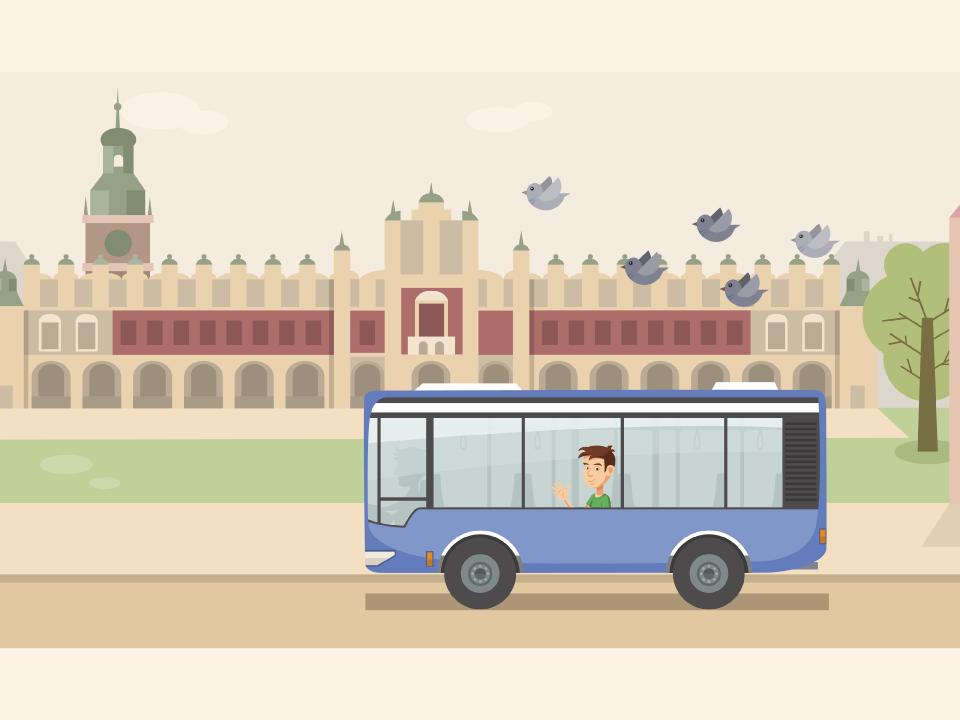 Ciekawski Autobus - aplikacja edukacyjna. Muzeum Inżynierii Miejskiej w Krakowie