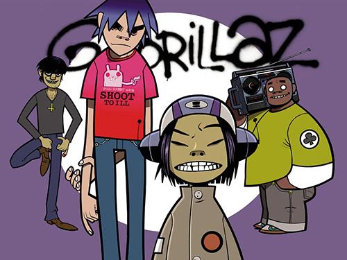 Dardanele Studio Animacji | animowany teledysk - kadr z animowanego teledysku grupy Gorillaz