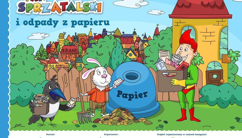 Pan Sprzątalski - ilustracje do książki | Dardanele Studio